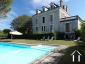 Maison de maître avec piscine