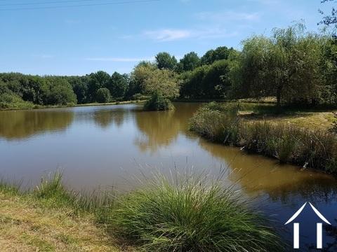 Potentiel Domaine 14ha,étang,source,ruisseau,piscine,tennis  Ref # GVS4893C