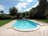 Grange rénovée en 2 maisons avec piscine Ref # Li582 image 20