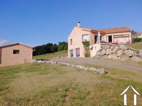 Villa, 4 chambres, garages, 2849m² avec belles vues Ref # LC4629