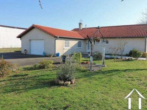 Villa (140m²), 3 chambres, garage, 1507m² de terrain Ref # LC4676