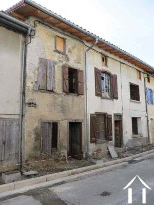 Ensemble immobilier de 2 maisons de village et terrain non attenant Ref # MP9040
