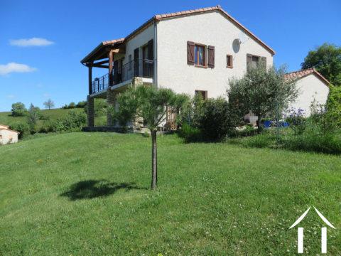 Villa récente vue Pyrénées et lac  Ref # MP9044