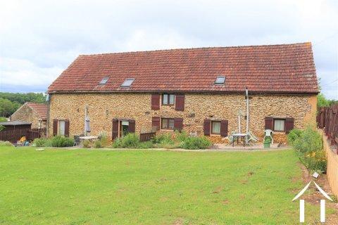 Domaine avec maisonnette et grange aménagée en 2 habitations Ref # MPLS1001