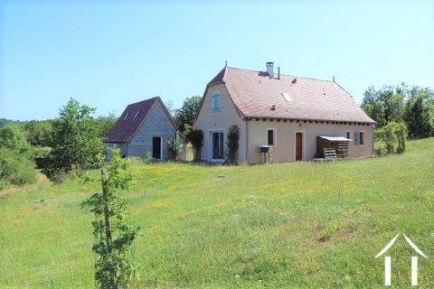 Maison récente sur 4509m2 de terrain Ref # MPLS1010