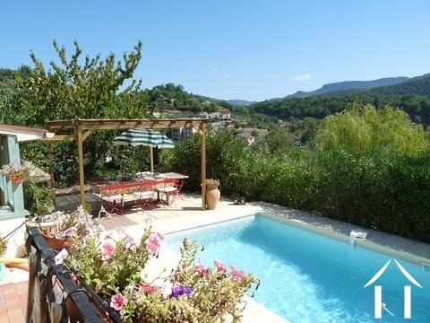 Maison à Vendre Fozieres Languedocroussillon Franceueu - Hotel languedoc roussillon avec piscine