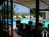 Groot Maison de Maitre met 9 slaapkamers (472m2) met zwembad, grote tuinen (13608m2) en een prachtig uitzicht over het landschap Ref # MPOP0020 image 13