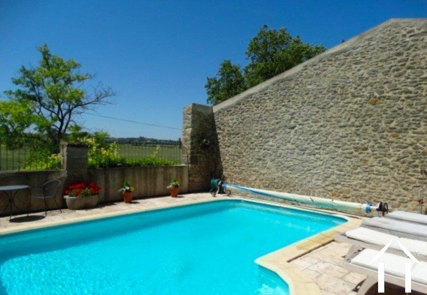 Belle maison en pierre avec piscine et vue imprenable Ref # MPOP0057 image 28