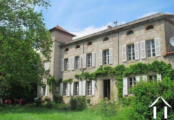 Manoir du 19ème siècle près de Carcassonne   Ref # MPOP0064 image 1