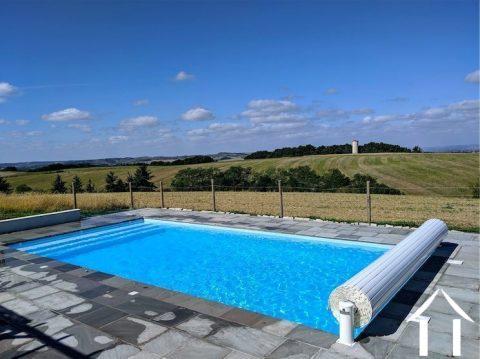 Maison de luxe conçue par un architecte avec 4 chambres, piscine, 100 000m2 de terrain et une vue imprenable! Ref # MPMPOP0080 Image principale
