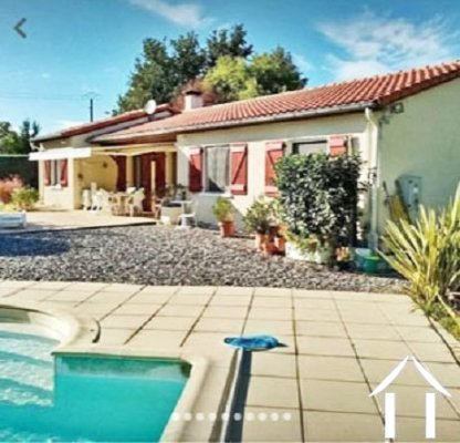 Maison indépendante 116m2 avec piscine et garage 54m2 sur un jol Ref # MPP2001