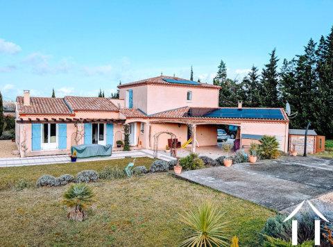 Villa (163 m²) avec jardin clos (1 750 m²) et vue sur la montagn Ref # MPPOP0087